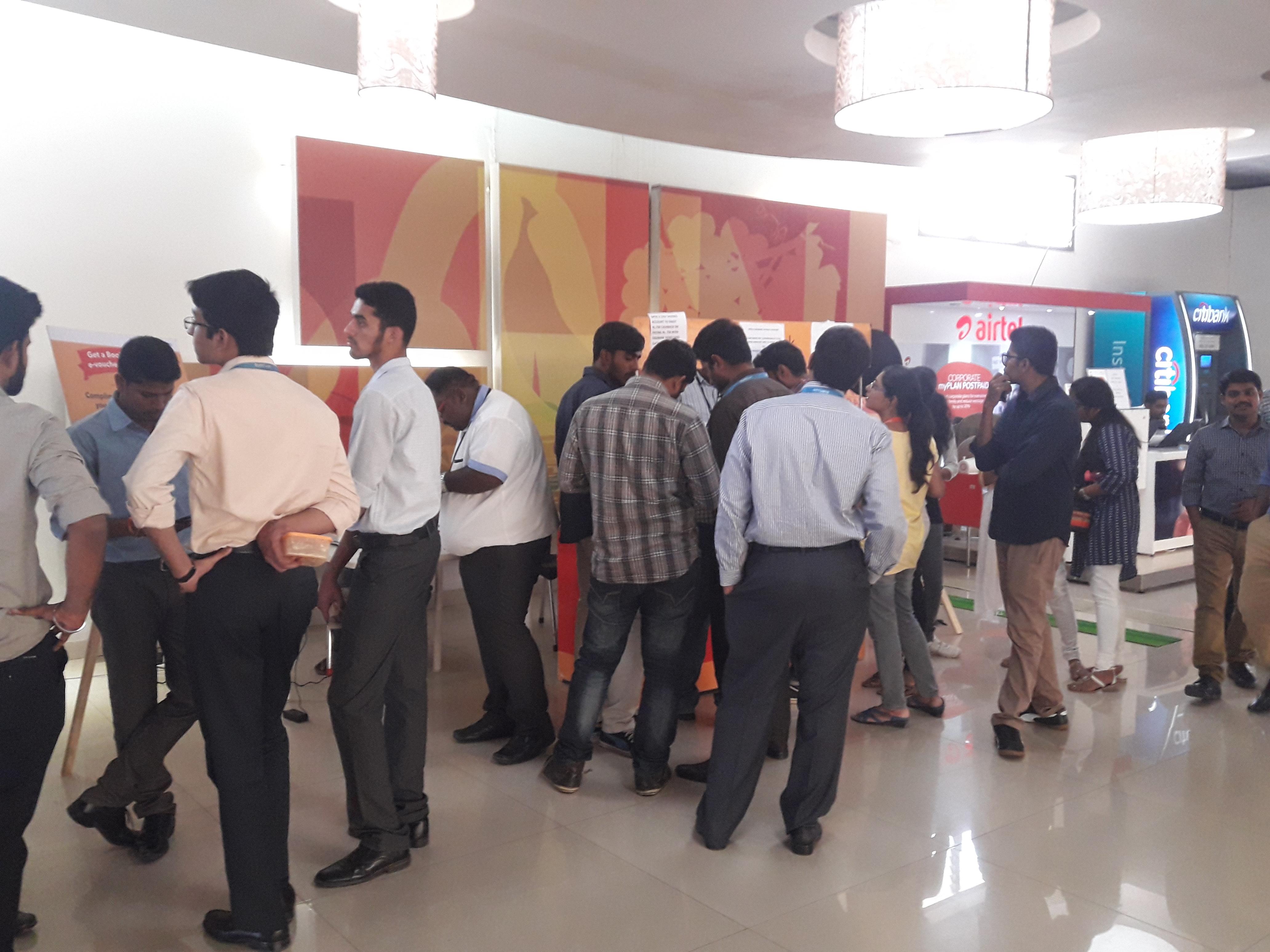 ITPL IT Park,Whitefield, Bangalore - Kiosk Advertising Option - 1