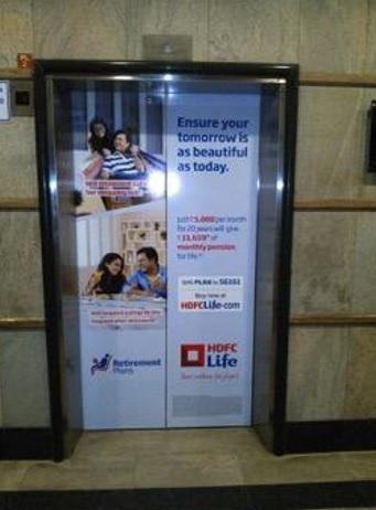 ITPL IT Park,Whitefield, Bangalore - Lift Branding Advertising Option 1