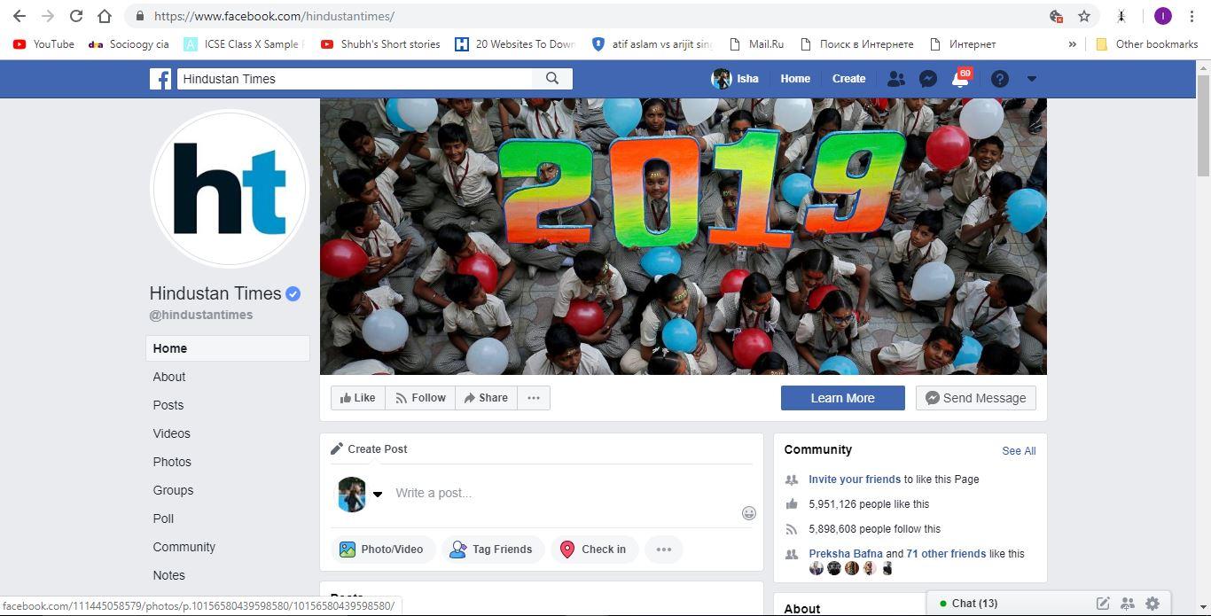 Livemint - Social Media Post Advertising