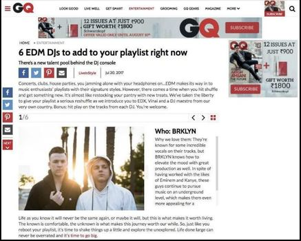 Vogue, Website - Article Advertising