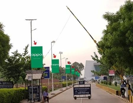 Pole Kiosk - 3 x 6 ft