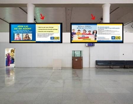 Back Lit Signage - Departure Entrance - 15 x 4 ft
