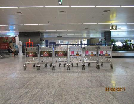 Hyderabad Airport-Luggage Trolley Advertising-Option 1