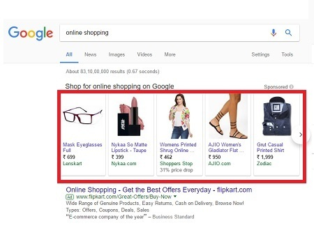 Google - Shopping