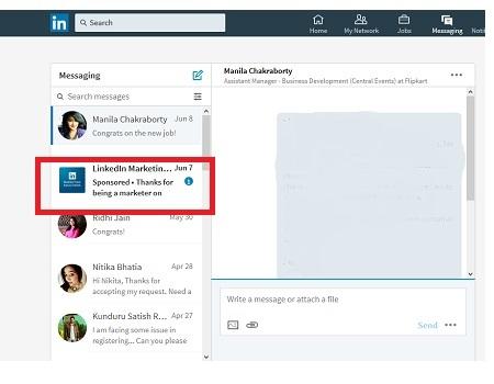 LinkedIn - InMail