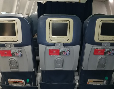 Jet Airways Domestic-Seat Back Advertising