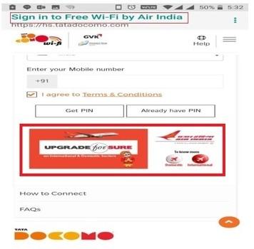 Jaipur Airport-Wifi Package Advertising-