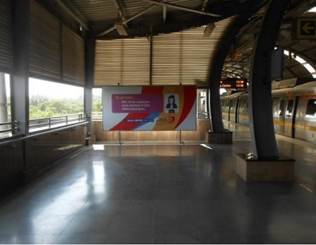 Platform 1 - Backlit Panel - 12 x 6 ft