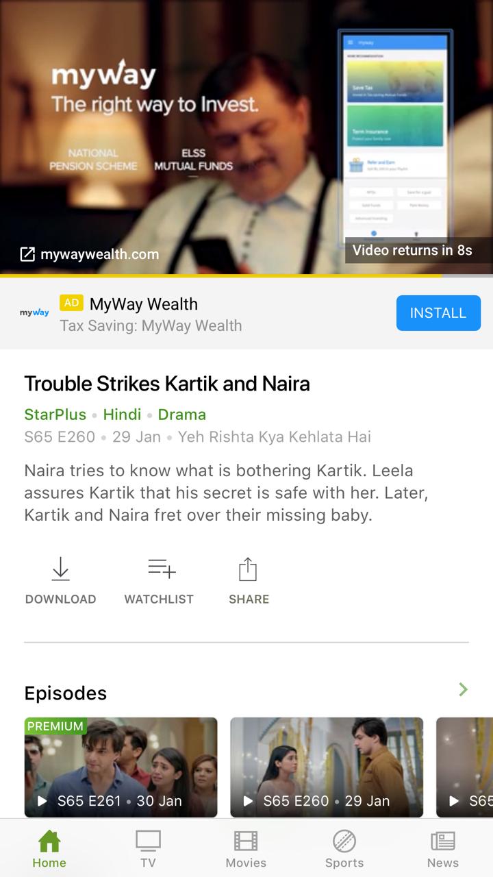Advertising in Hotstar, App - The Media Ant