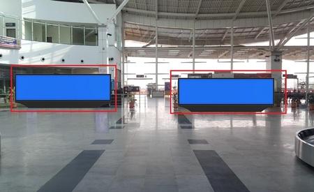 Exit Gate - Back Lit Scroller 24 x 6 Ft