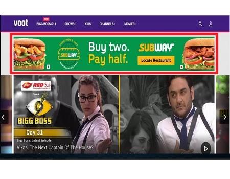 Advertising in Voot, App - The Media Ant