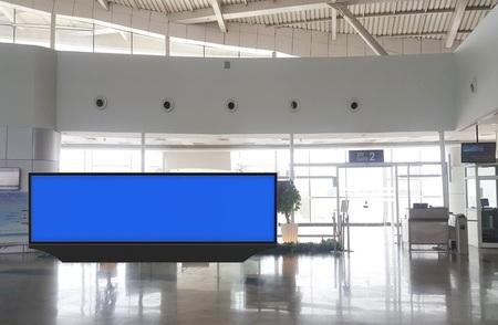 Departure Area - Back Lit Scroller 24 x 6 Ft