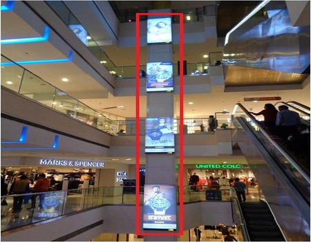Advertising in Mall - DLF Mall of India, Noida - The Media Ant