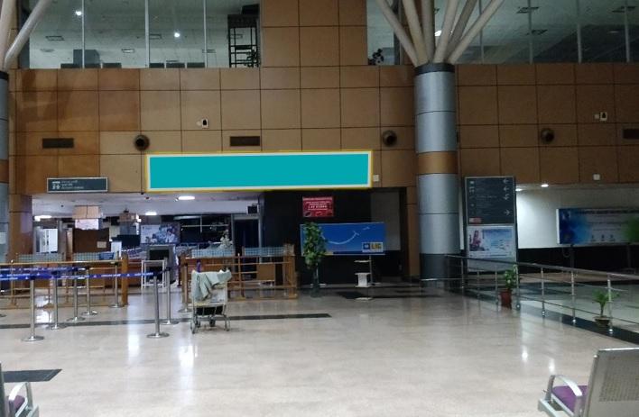 Departure Area - Above SHA Entry Gate  - 20 x 3 ft - Back Lit Panel
