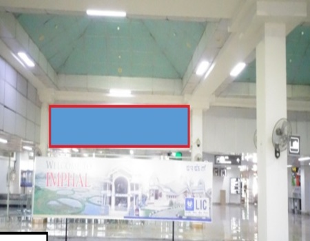 Arrival Main Hall - Starting Point of Conveyor Belt 2 - 8 x 3 Ft 2-Back Lit Panel