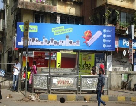 Bail Bajar, Mumbai - Bus Shelter Advertising