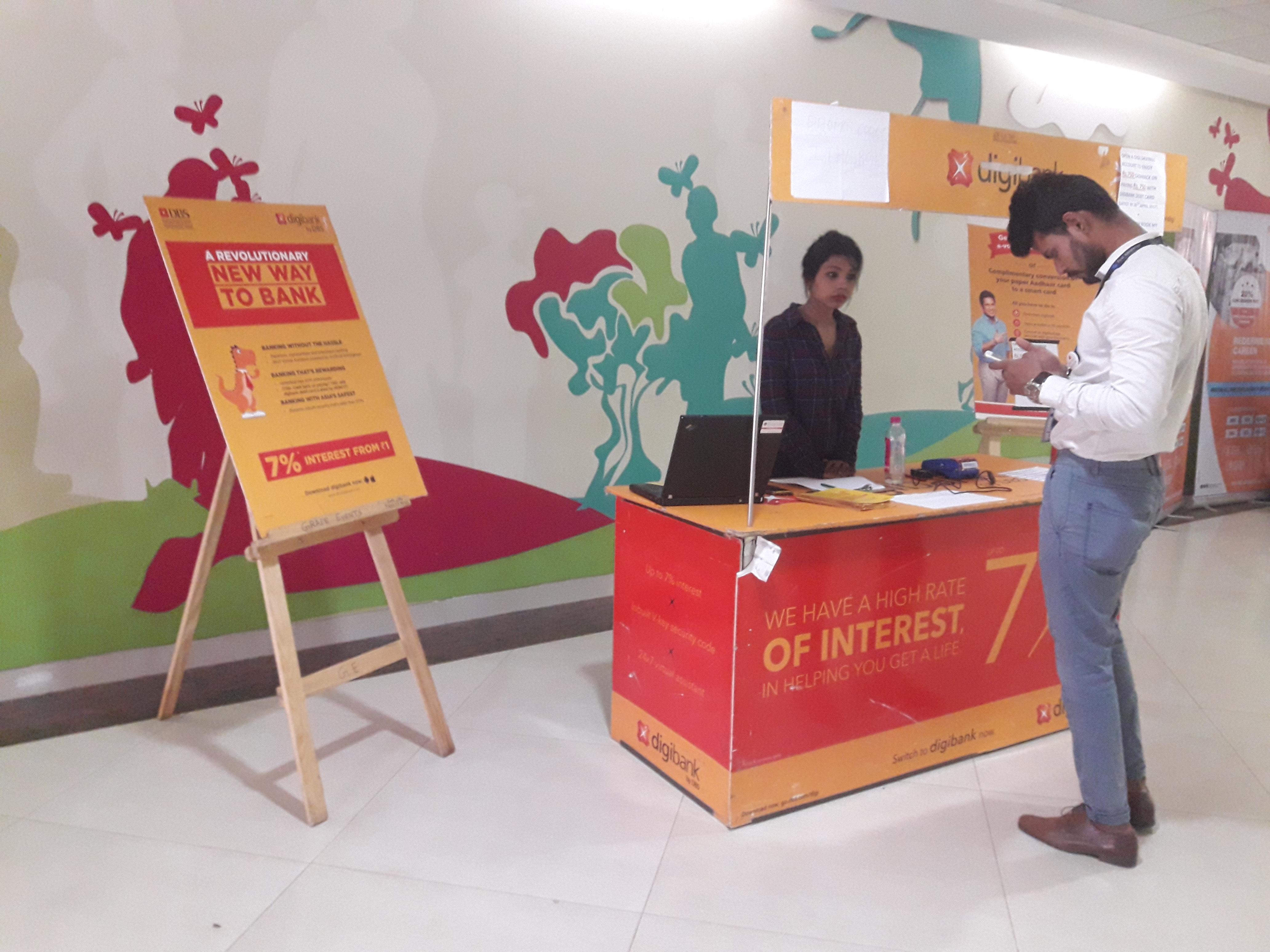 Manyata Tech Park - Kiosk Advertising Option - 1