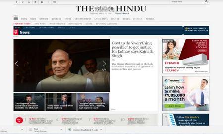 The Hindu - Video Advertising Option 1