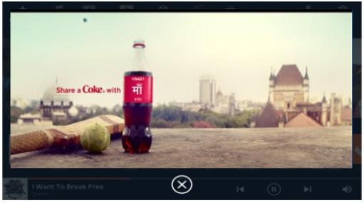 Cab - Bangalore - Ola Play Screen  - Banner Advertising Option 1