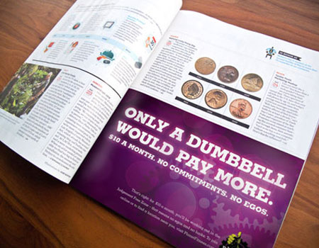 Business World Magazine-Half Page Advertising