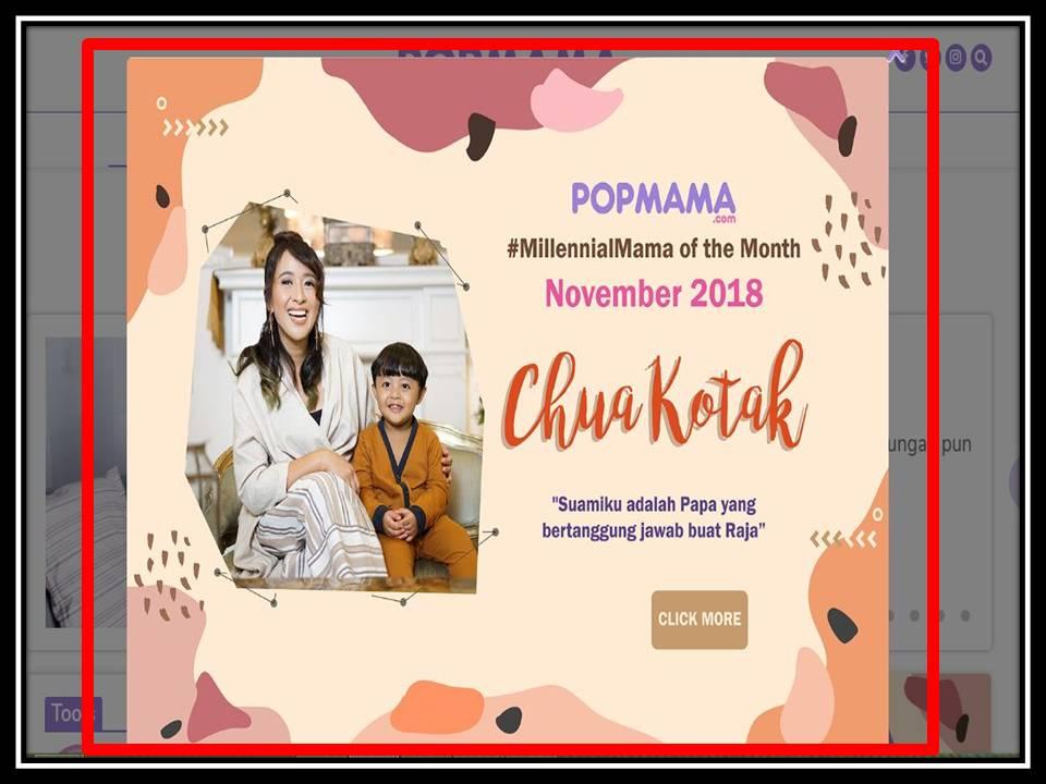 Iklan Pop-up di Popmama