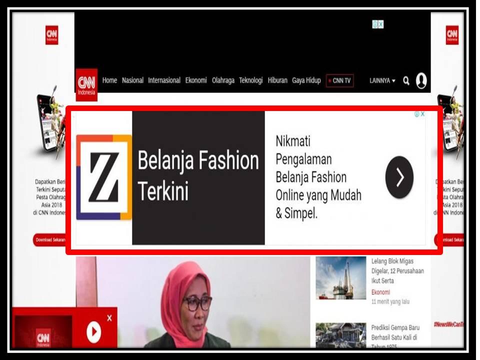 Iklan Billboard di CNN Indonesia