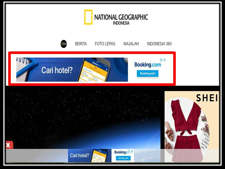 Iklan Leaderboard di NGI online