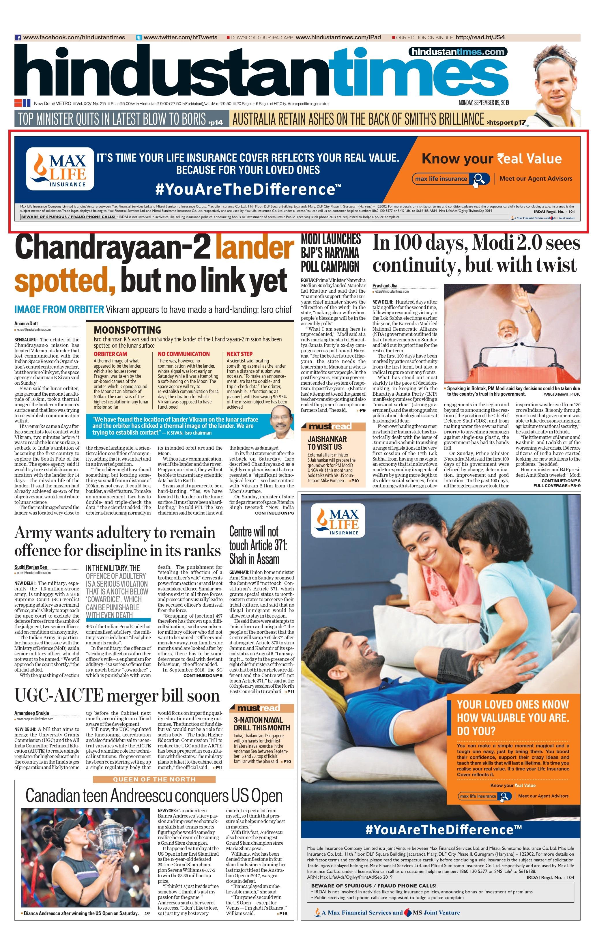 Hindustan Times Mumbai-Skybus Advertising-Option 1