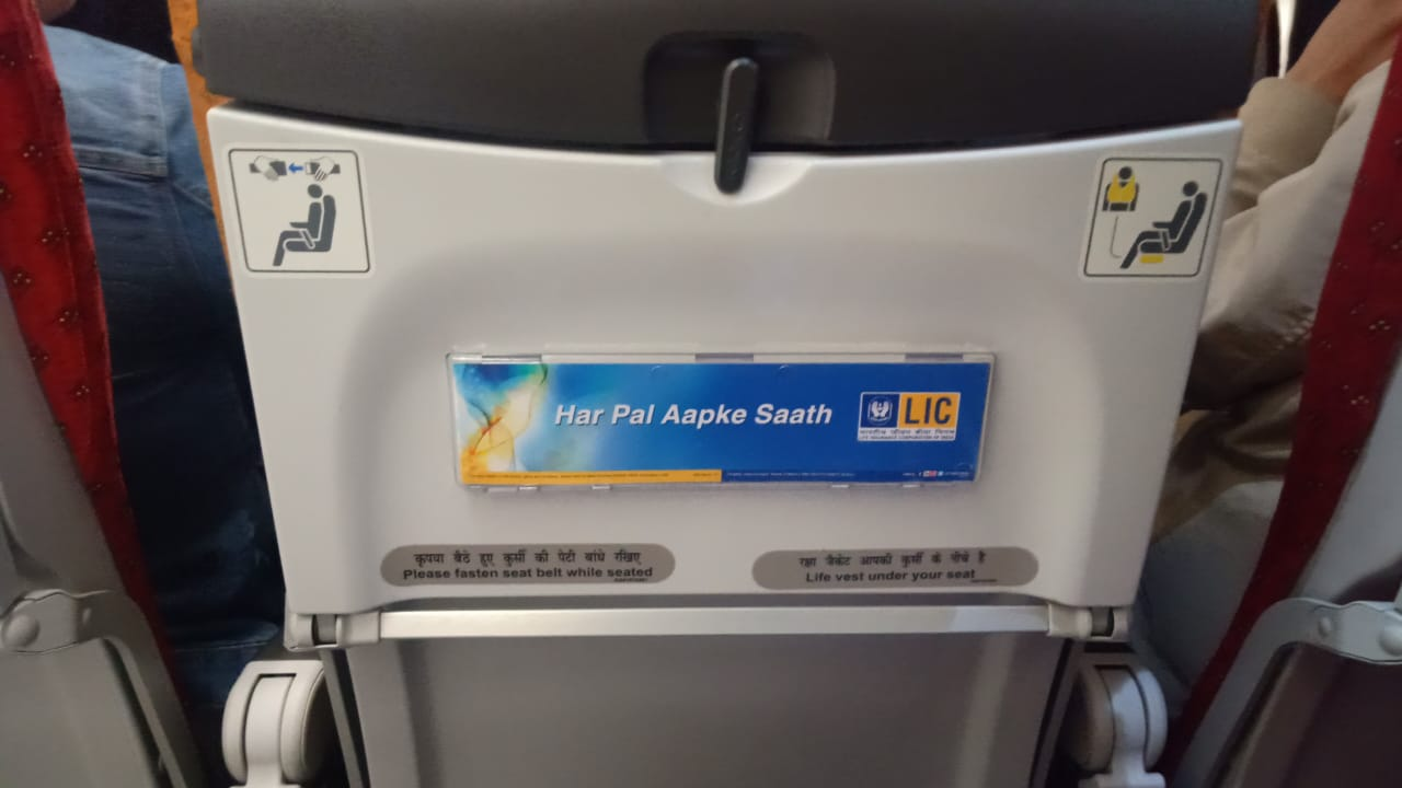 Air India India Airlines-Seat Back  Advertising-Option 1