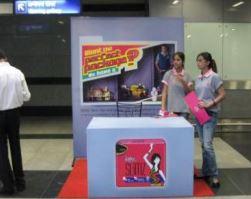 Kiosk Set Up - 6 x 6 Feet