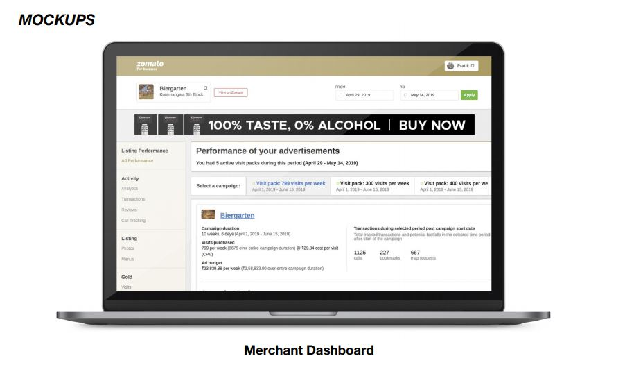 Merchant Dashboard