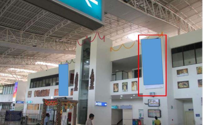 Departure - 5 x 15 Ft - Visitor Concourse - Back Lit Panel