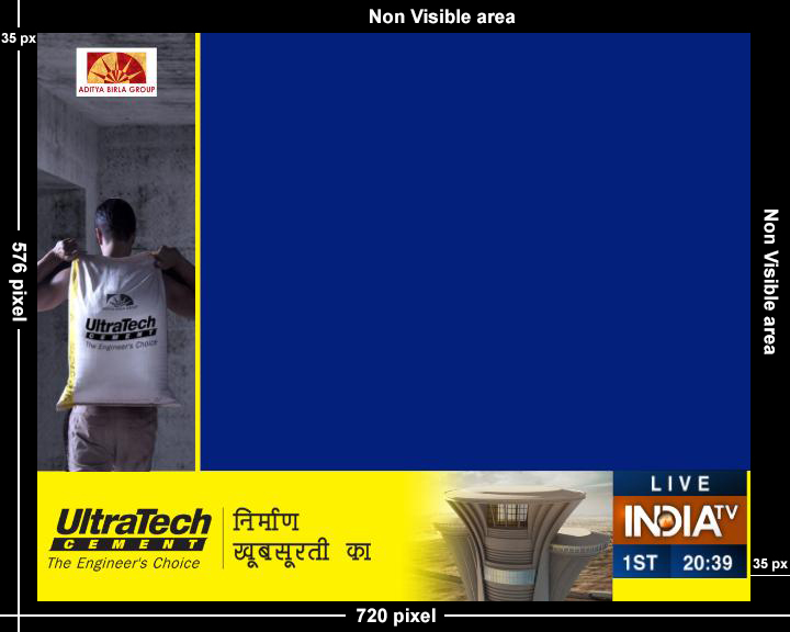 India TV-L Band Advertising-Option 1