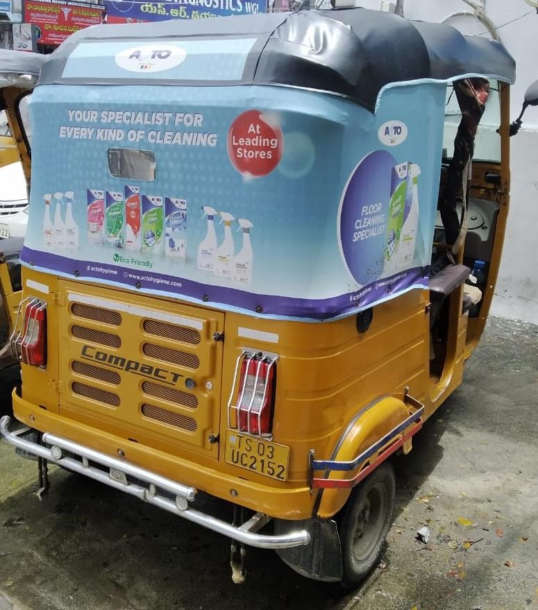 Auto - Hyderabad-Auto Hood Advertising-Option 1