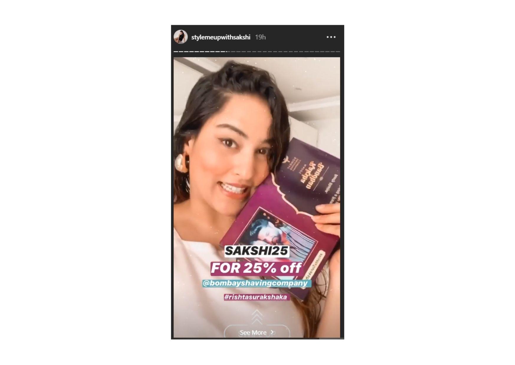 Influencer Marketing Aksheev Puri-Story Advertising-Option 1