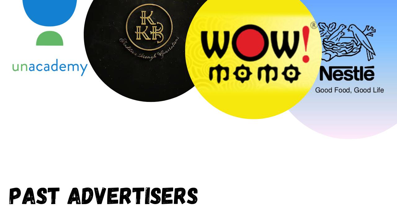 Gaana Advertising Past Advertisers
