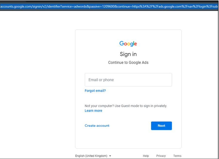 Google Display, Website Advertising Business Manager Access To Agency Step 1