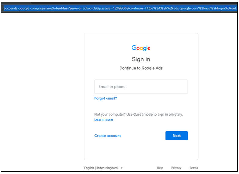 Google Search Advertising, Business Manager Access To Agency Step 1
